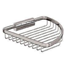 Britton Bathrooms - Large Corner Wire Basket