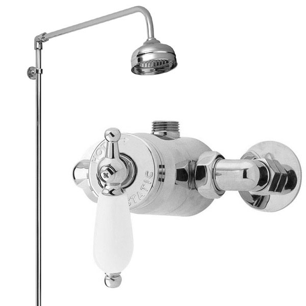 Ultra Beaumont Sequential Exposed Thermostatic Valve w/ Rigid Riser Large Image
