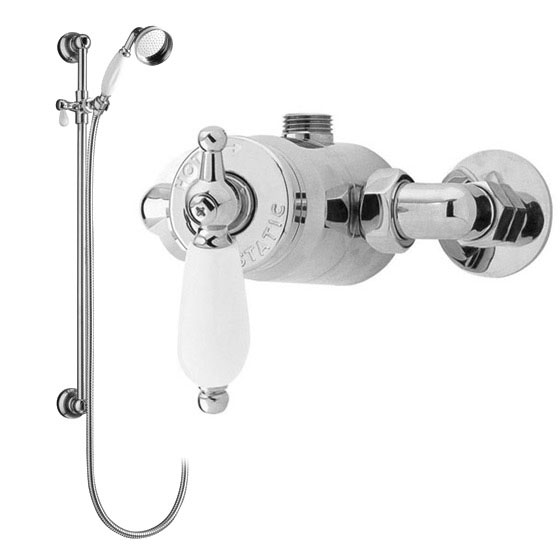Ultra Beaumont Sequential Exposed Thermostatic Valve w/ Slider Rail Large Image