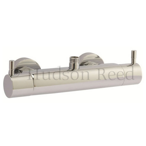 Hudson Reed Thermostatic Bar Valve with Eternity Shower Kit - Chrome profile large image view 2