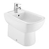 Roca Aire 1TH Back-to-Wall Floor Standing Bidet - A3570F7000 profile small image view 1