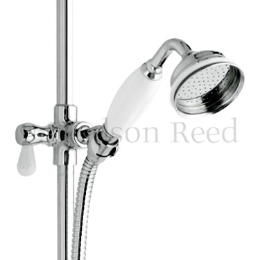 Hudson Reed Grand Rigid Riser Shower Kit with Shower Rose - A3602 Feature Large Image