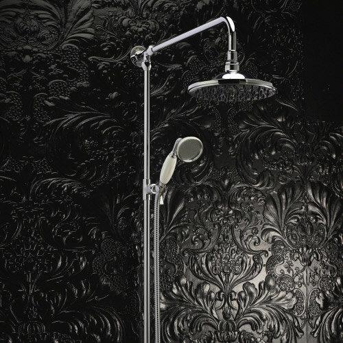 Hudson Reed Grand Rigid Riser Shower Kit with Shower Rose - A3602 Standard Large Image