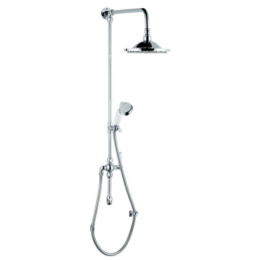 Hudson Reed Grand Rigid Riser Shower Kit with Shower Rose - A3602 profile large image view 1