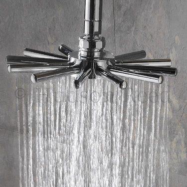 Hudson Reed Thermostatic Bar Valve with Infinity Shower Kit - Chrome Feature Large Image