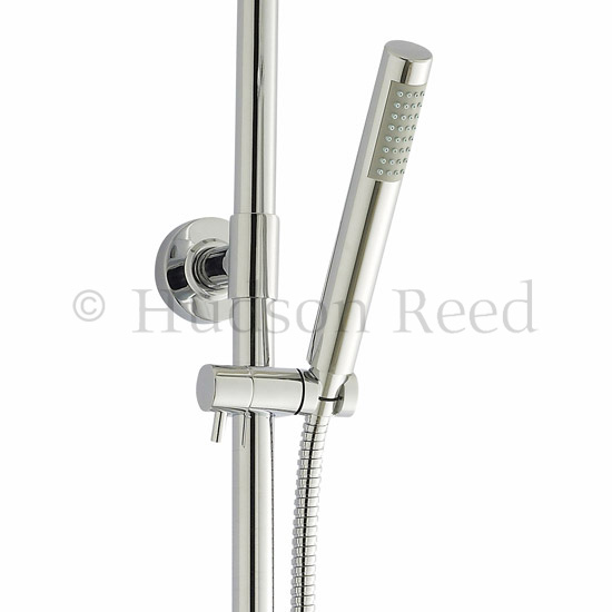 Hudson Reed Infinity Riser Kit with Diverter - Chrome - A363 Profile Large Image