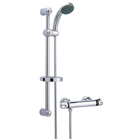 Ultra Dune Bar Shower Valve with Slider Rail Kit - A3910