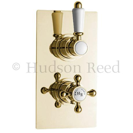 Hudson Reed Traditional Twin Concealed Thermostatic Shower Valve ...