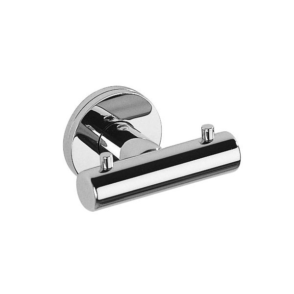 Inda - Touch Double Robe Hook - A46210 Large Image