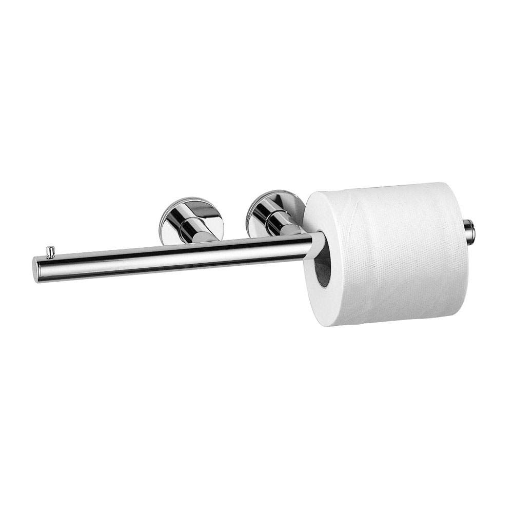 Inda - Touch Double Toilet Roll Holder - A46252 Large Image