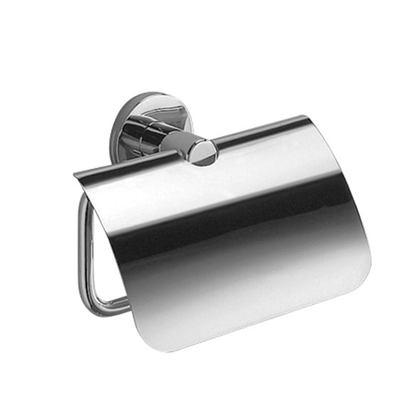 Inda - Touch Toilet Roll Holder with Cover - A4626B Large Image