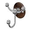 Burlington Triple Robe Hook - Walnut - A47WAL profile small image view 1
