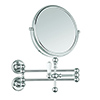 Burlington Traditional Cosmetic Wall Mirror - Chrome - A57CHR profile small image view 1