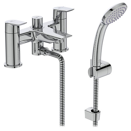 Ideal Standard Tesi 2 Hole Dual Control Bath Shower Mixer - A6591AA