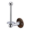 Burlington Spare Toilet Roll Holder - Walnut - A6WAL profile small image view 1
