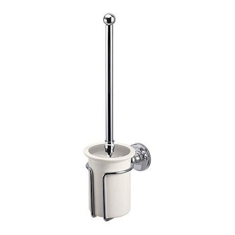 Burlington Medici Toilet Brush Holder - A8-CHR-MED