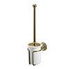 Burlington Gold Toilet Brush Holder - A8-GOLD profile small image view 1