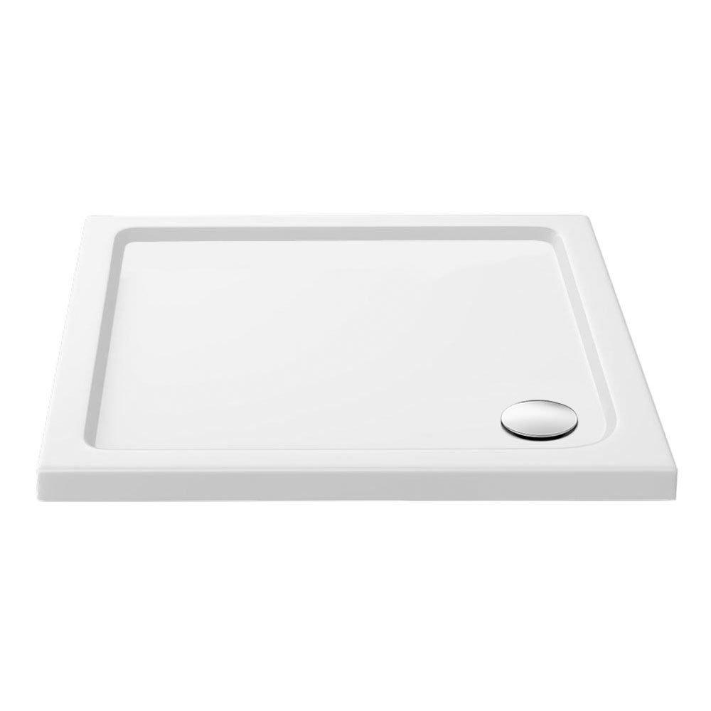Aurora 900 x 900mm Anti-Slip Stone Square Shower Tray