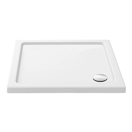Aurora 900 x 900mm Anti-Slip Stone Square Shower Tray