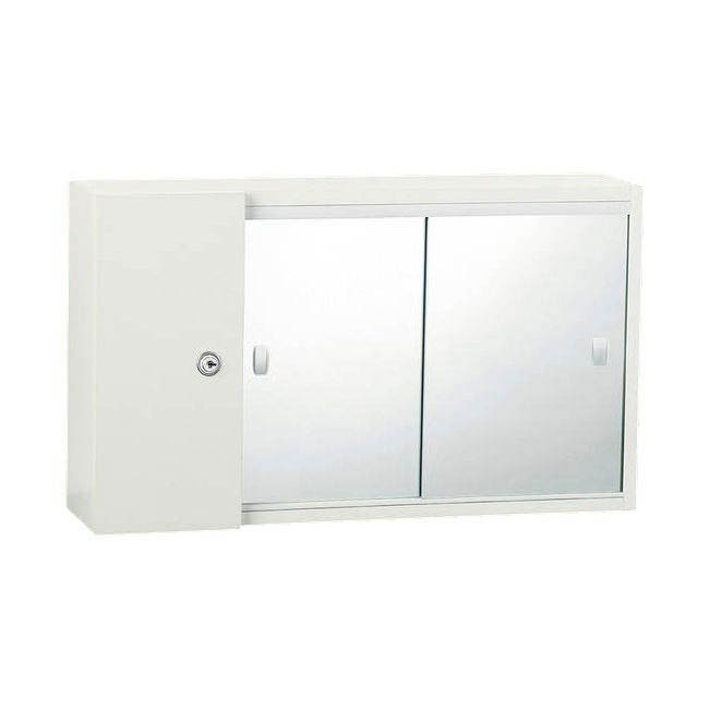 Triton Metlex Buckingham Double Sliding Mirror Door Cabinet - ABU2213D profile large image view 1