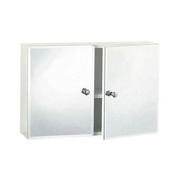 Triton Metlex Buckingham Double Bevelled Mirror Door Cabinet - ABU512B Large Image
