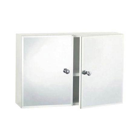 Triton Metlex Buckingham Double Bevelled Mirror Door Cabinet - ABU512B