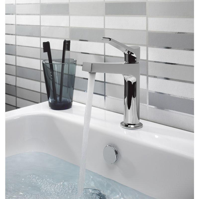 Crosswater - Acute Monobloc Basin Mixer - AC110DNC profile large image view 2