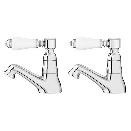 Alison Cork Traditional Basin Taps - AC136