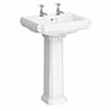 Traditional Basin & Pedestal - Alison Cork for Victorian Plumbing profile small image view 1