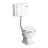 Traditional Low Level Toilet - Alison Cork for Victorian Plumbing profile small image view 1
