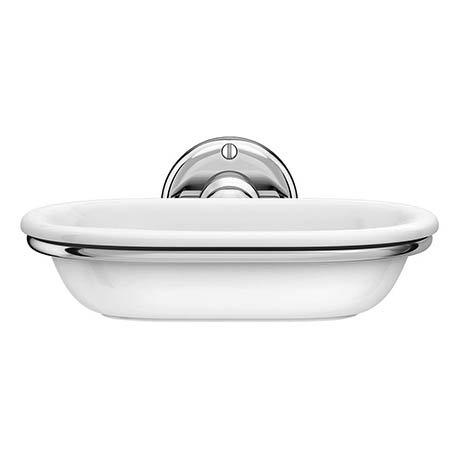 Alison Cork Ceramic Soap Dish & Holder - AC176