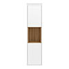 Wall Hung Tall Unit - Gloss White/Coco Bolo - Alison Cork for Victorian Plumbing profile small image view 1