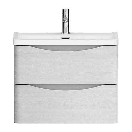 Alison Cork White Ash 600mm Vanity Unit & Basin - AC326