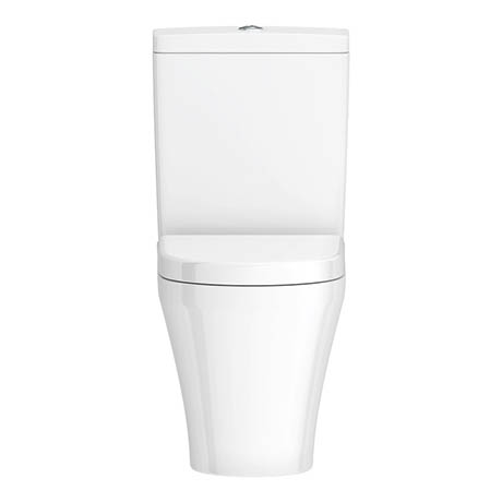Alison Cork Back to Wall Close Coupled Toilet & Soft Close Seat - AC365