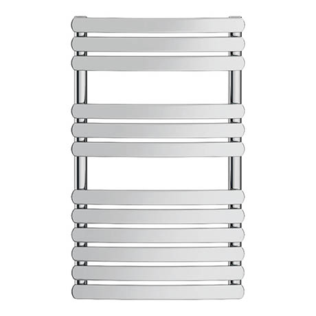 Alison Cork Curved Heated Towel Rail & Valves - AC390