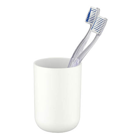 Toothbrush Tumbler Boutique White - Alison Cork for Victorian Plumbing