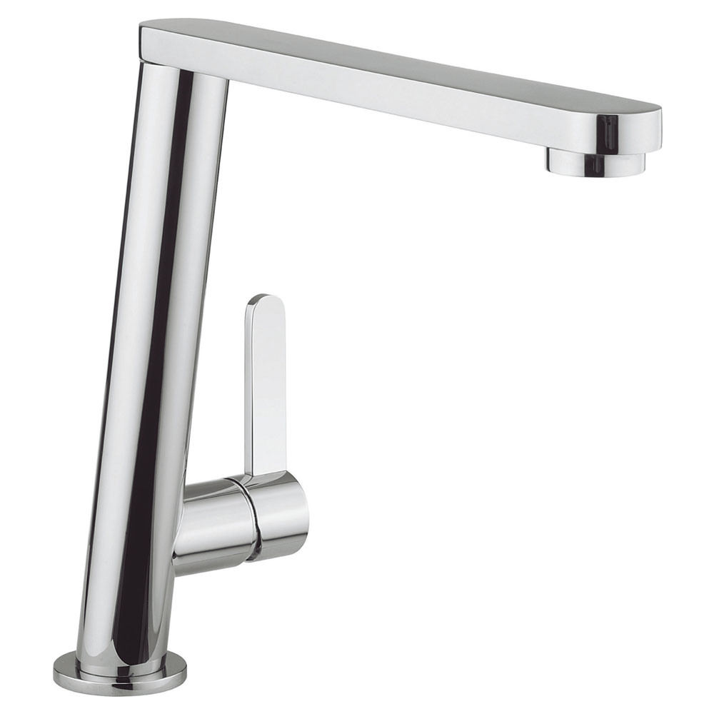 Crosswater - Cucina Acute Side Lever Kitchen Mixer - Chrome - AC714DC Large Image