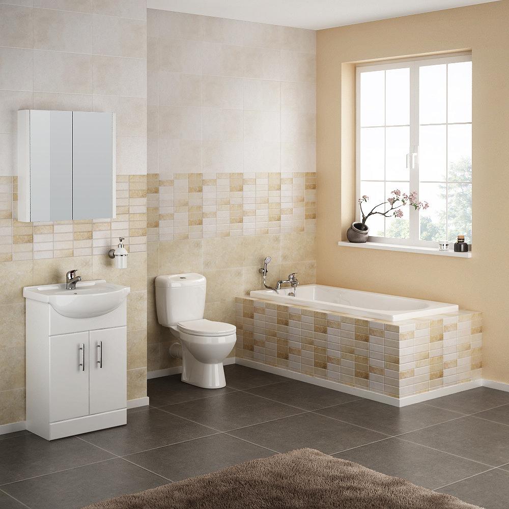 Alaska Complete Bathroom Suite Large Image