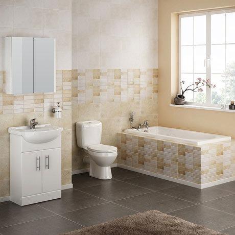 Alaska Complete Bathroom Suite