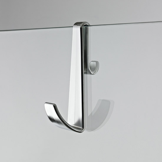 Premier - Robe Hook for Framless Shower Enclosures - ACC003 profile large image view 1