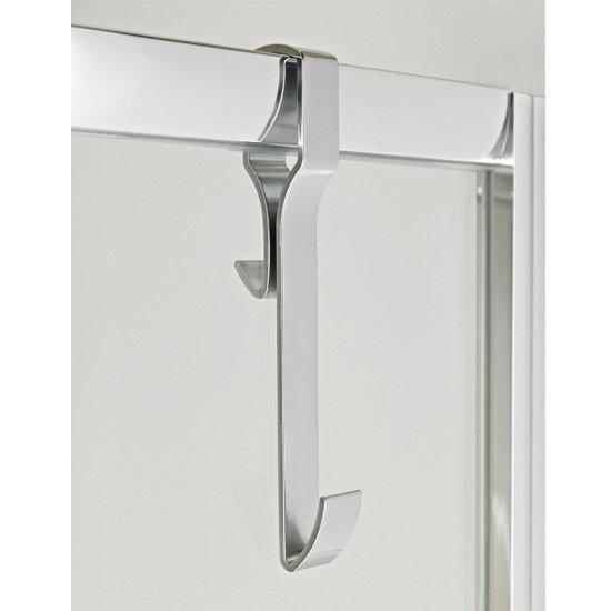 Premier - Robe Hook for Framed Shower Enclosures - ACC004 Large Image