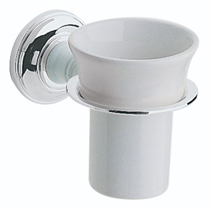 Heritage - Clifton Tumbler & Holder - Chrome - ACC03 Large Image