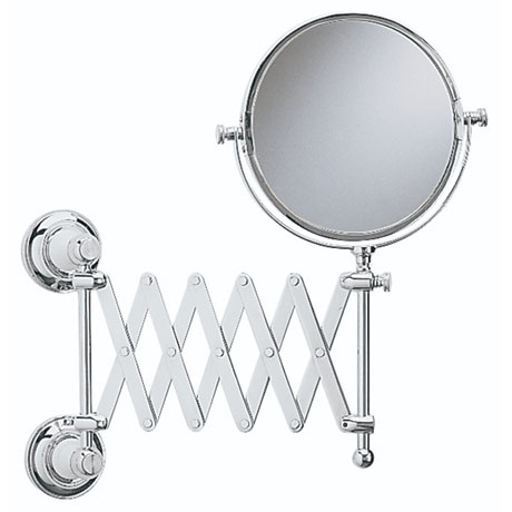 Heritage - Clifton Extendable Mirror - Chrome - ACC16