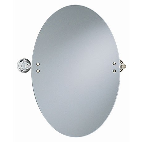 Heritage - Clifton Oval Swivel Mirror - Chrome - ACC17