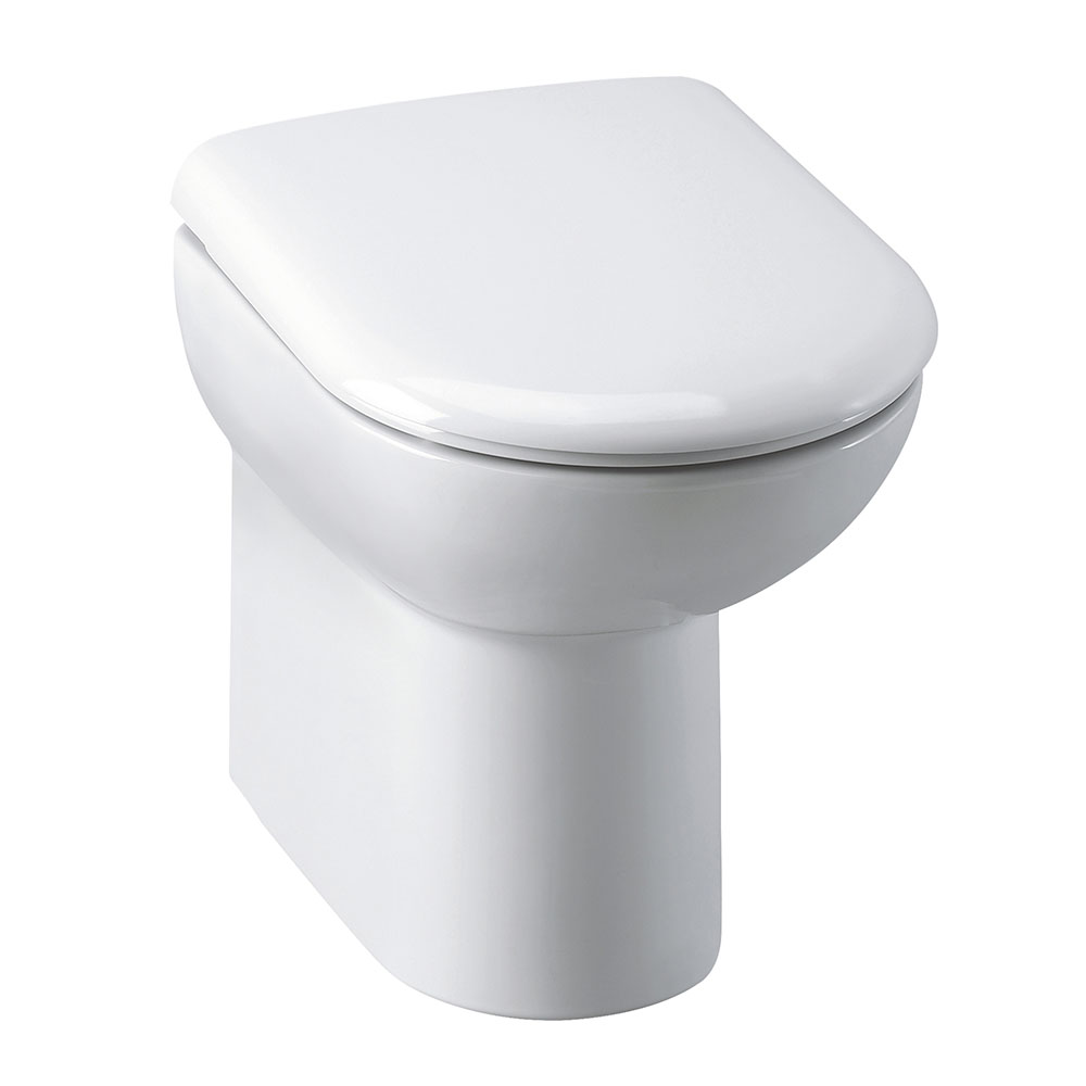Alaska Comfort Height Back to Wall Toilet Pan + Soft Close Seat