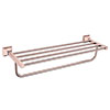 Heritage Chancery Double Bathroom Towel Shelf - Rose Gold - ACHDBTRG profile small image view 1