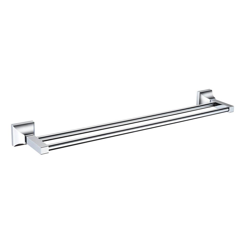 Heritage Chancery Double Towel Rail - Chrome - ACHDTRC Large Image