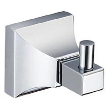 Heritage Chancery Robe Hook - Chrome - ACHRBHC Medium Image