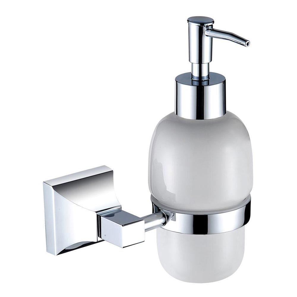 Heritage Chancery Soap Dispenser - Chrome - ACHSDIC Large Image
