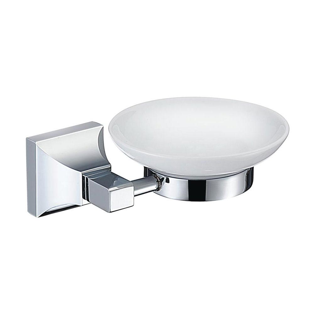 Heritage Chancery Soap Dish & Holder - Chrome - ACHSPDC Large Image